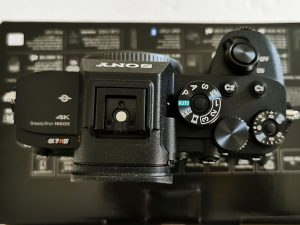 Sony-α7R-IV-Camera-Top-view
