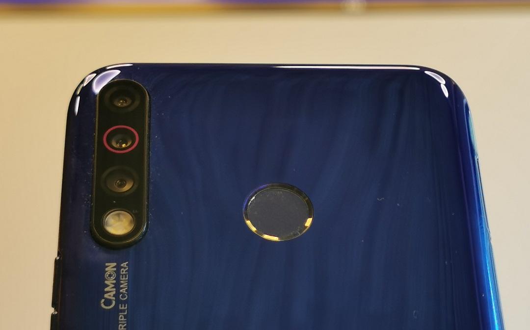 TECNO Mobile- Camon 12 -Back Panel-Triple cameras with Quad Flash