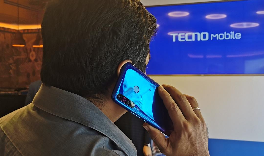 TECNO Mobile- Camon 12 -with triple cameras