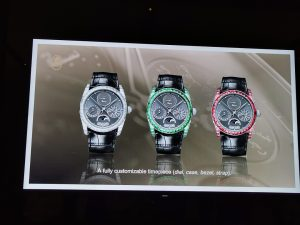 At the launch of Parmigiani Fleurier Hijri Calendar Wristwatch-Customised Dial options