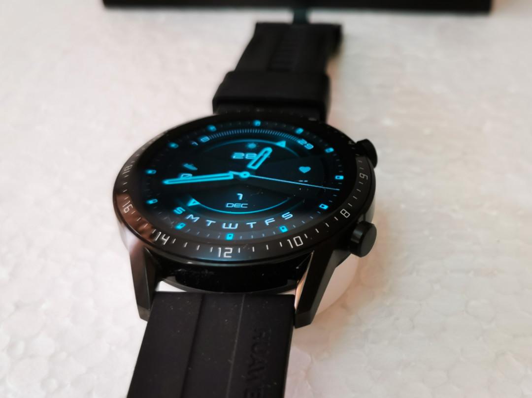 Huawei GT2-Watch- 3D-Glass giving a Bezel-less Vision