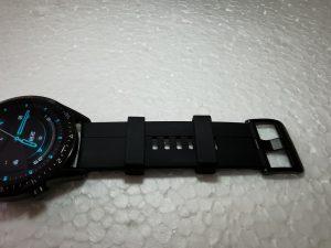 Huawei GT2-Watch- Black Fluoroelastomer Strap- Silicon