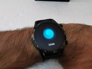 Huawei GT2-Watch- Breathing Exercise - Exhaling