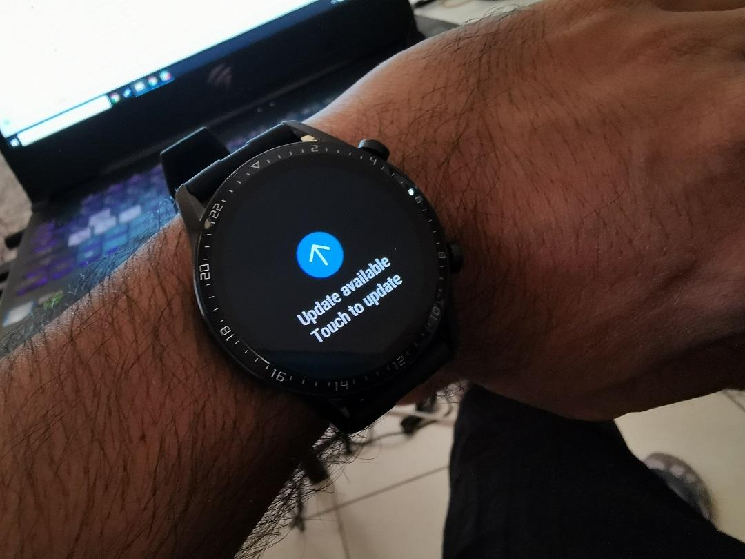 Huawei GT2-Watch- Firmware update