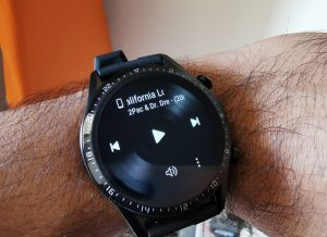 Huawei GT2-Watch- Playing and controlling the Music via Watch