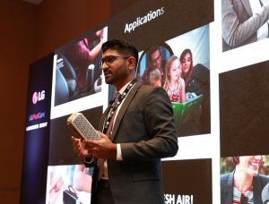 Mr. Arun Kumar, Sales Manager, LG Electronics Gulf