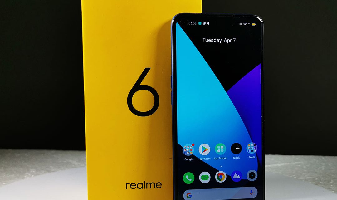 Review of Realme 6 Smartphone in UAE