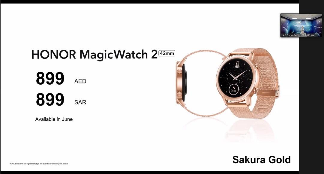 Honor MagicWatch2- Sakura Gold