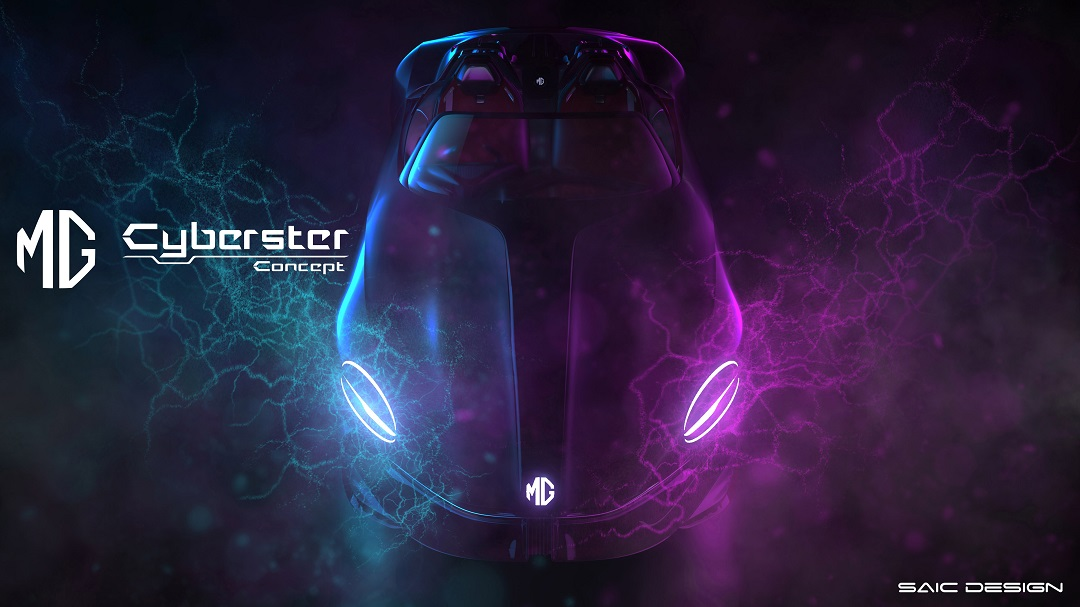 MG Unveils A Totally New Pure-Electric Roadster for the 5G Era – The Cyberster Concept