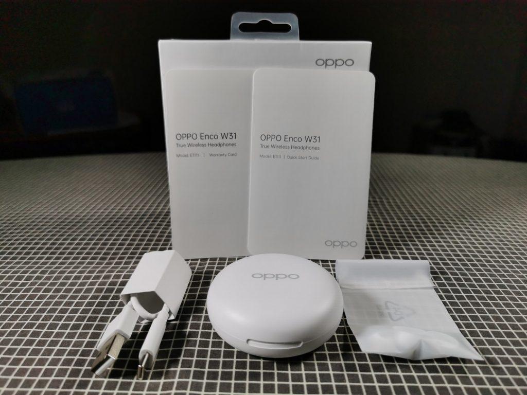 Oppo_ENCO_W31-Box Content