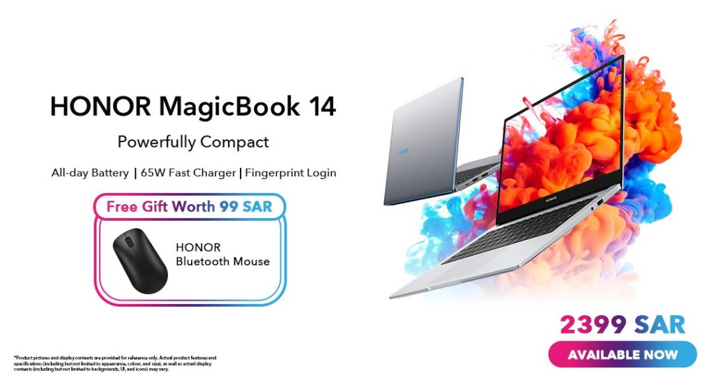 Honor MagicBook 14-Offer