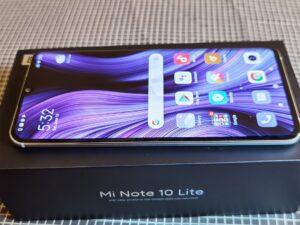 Xiaomi Note10Lite -Left Side View