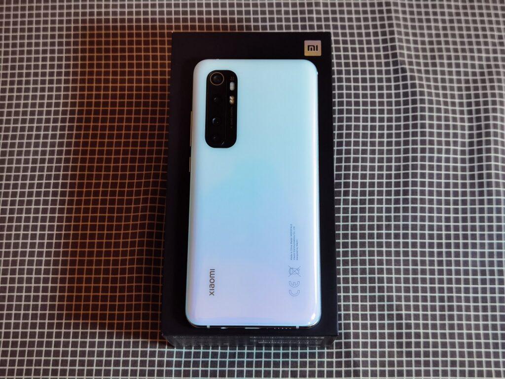 Xiaomi Note10Lite - White Glacier back Panel