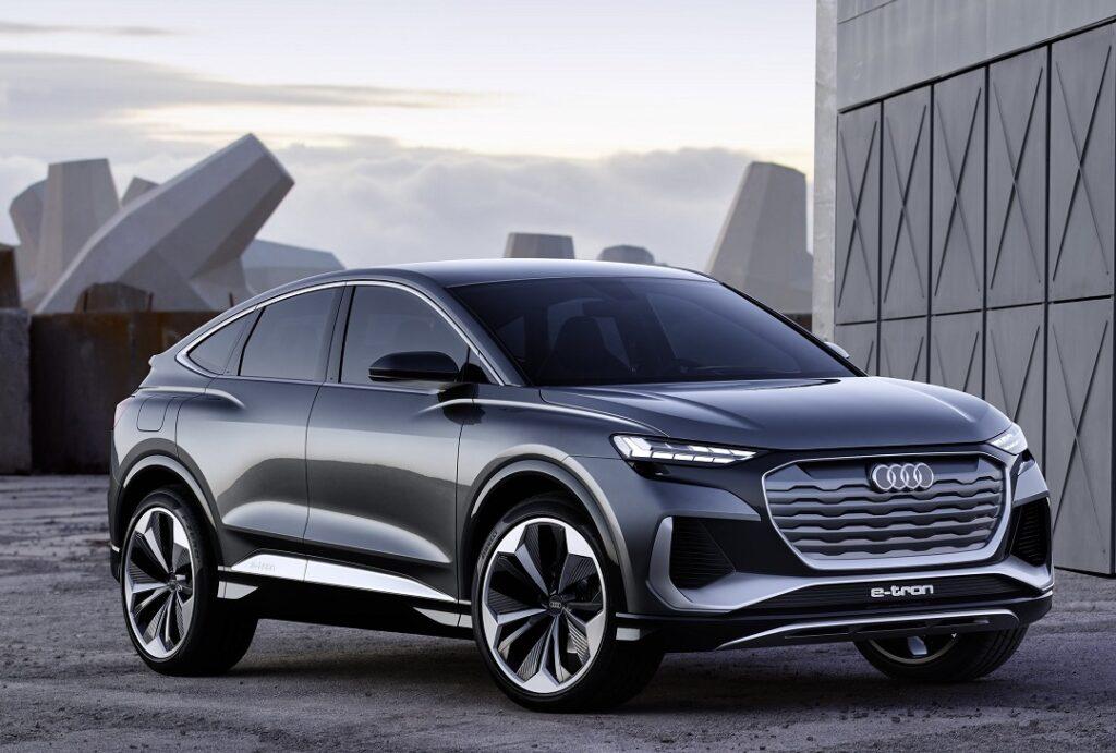 Audi Q4 Sportback e-tron concept_kinetic grey