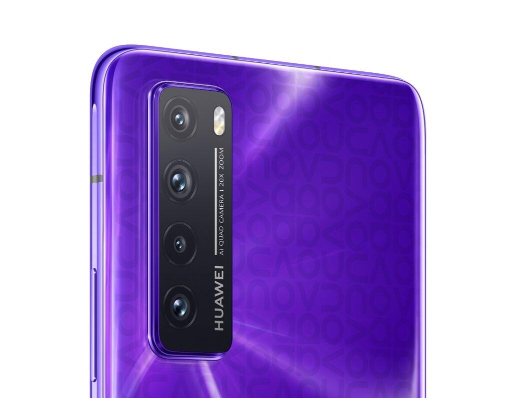 Huawei Nova 7 5G - Quad Cameras