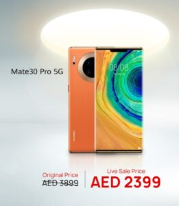 The HUAWEI AppGallery EID Live Sale- Mate30 Pro 5G