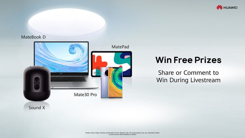 The HUAWEI AppGallery EID Live Sale- Win prizes