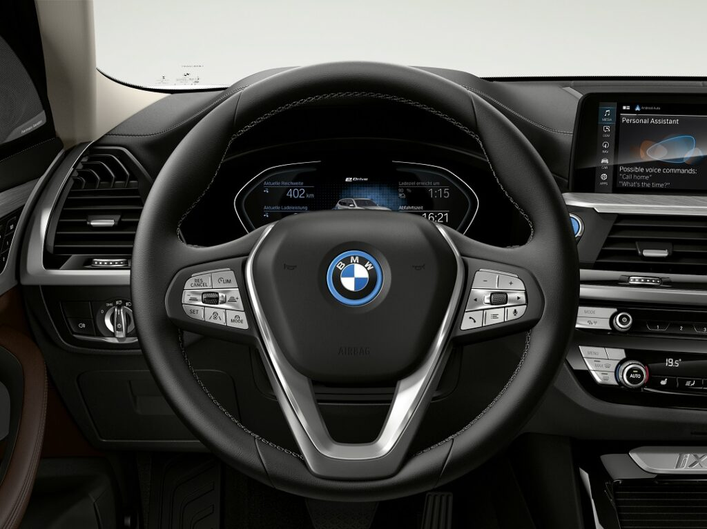 The New BMW iX3- edrive