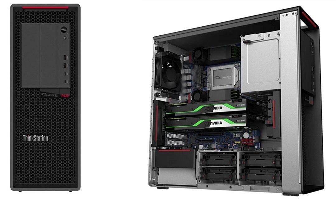 Lenovo Launches ThinkStation P620  with AMD's Ryzen Threadripper PRO Processor (64 Core Workstation)