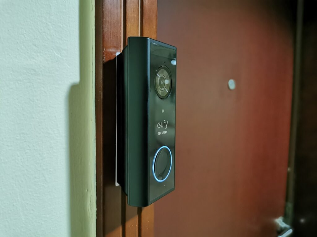 Eufy Video Doorbell -Fixed ready to use