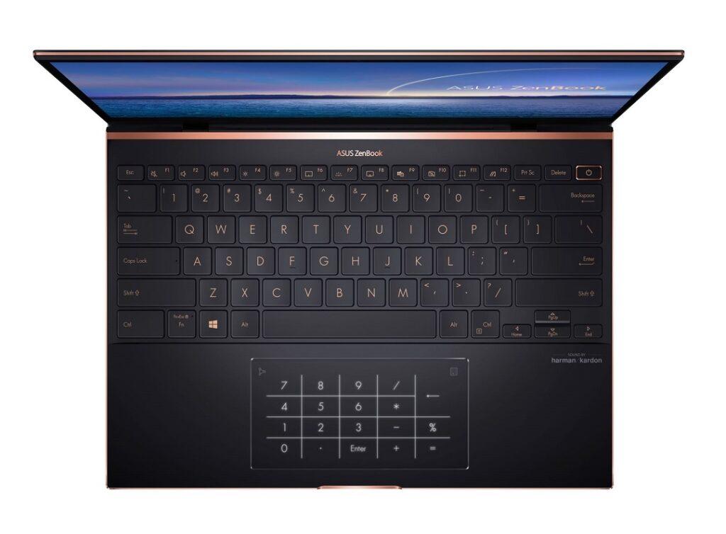 ASUS ZenBook S UX393_Edge to Edge Keyboard