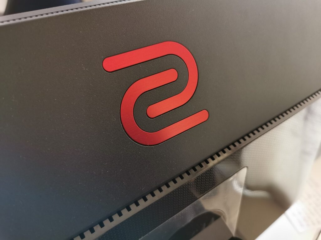 BenQ Zowie XL2746S -Back Panel with heat dissipation grill