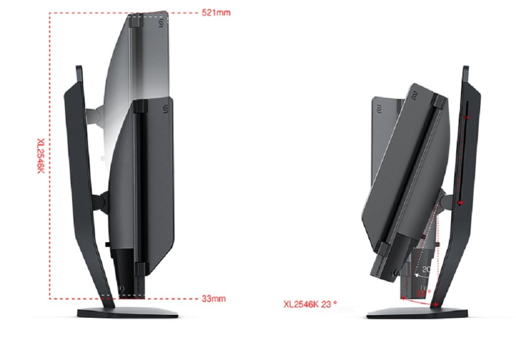 BenQ-Zowie-Xl2546k-Swivel-Stand