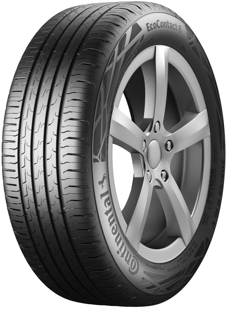 Continental Tyre - EcoContact 6 for electric vehicles