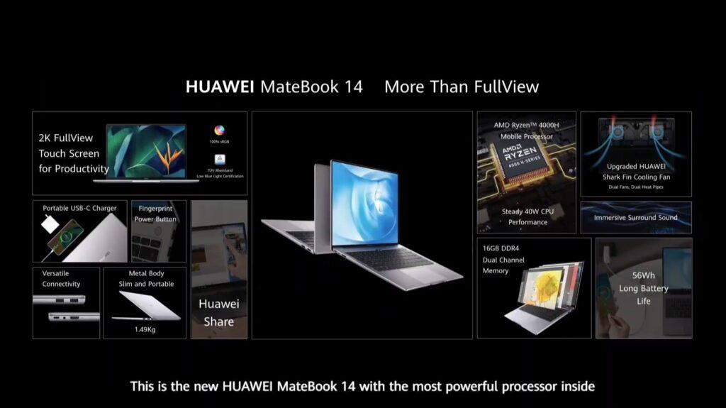 HUAWEI MateBook 14 - Details