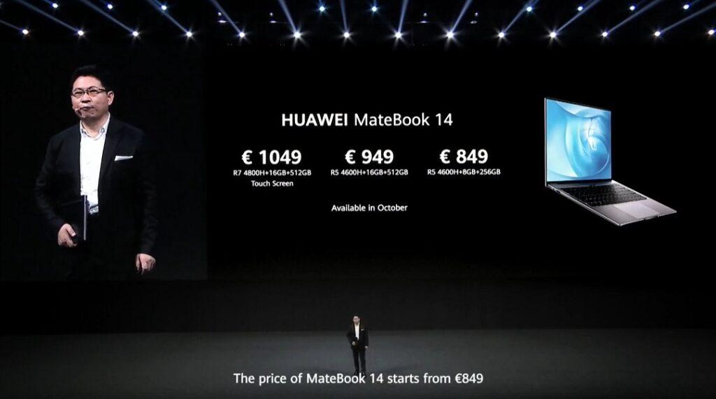 HUAWEI MateBook 14 - Price