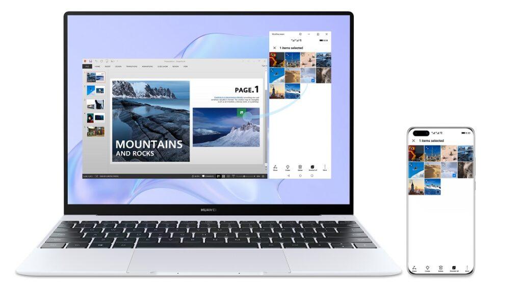 HUAWEI MateBook X - Multi Screen Collaboration