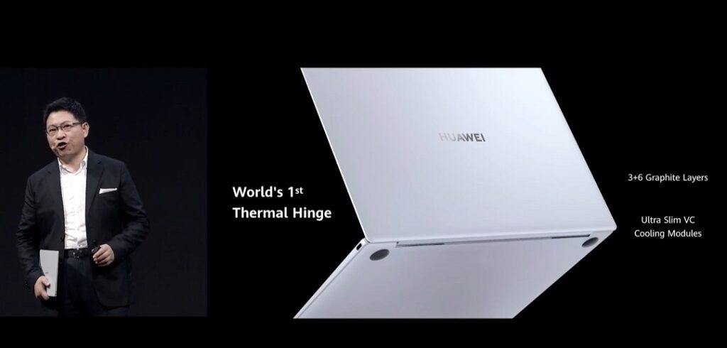 HUAWEI MateBook X -World's 1st Thermal Hinge