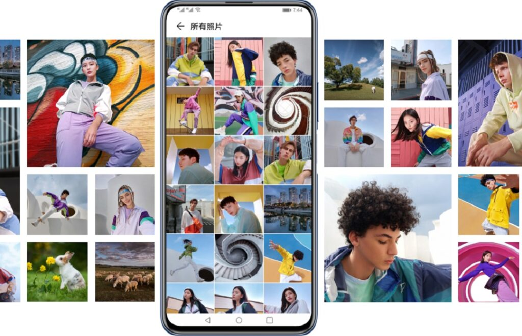 HUAWEI Y9a - Smart Collage