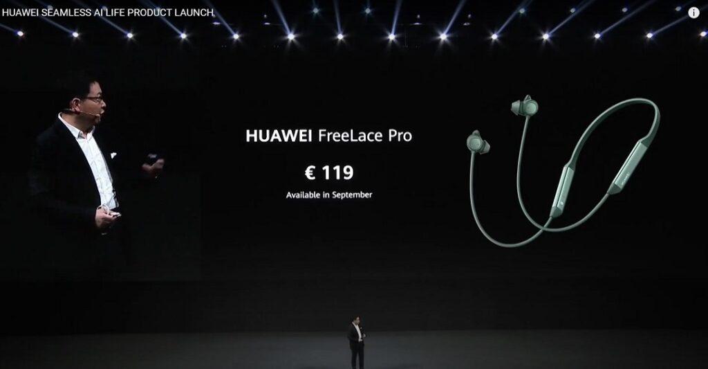 Huawei FreeLace Pro - Price