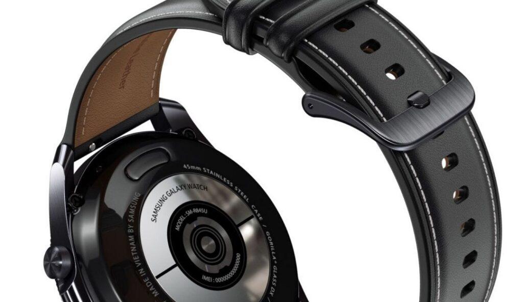 Samsung - Galaxy-Watch3- Back