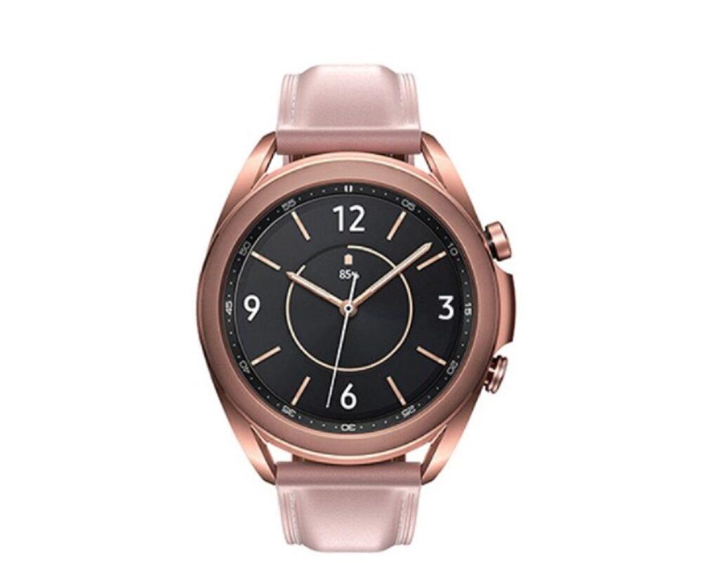 Samsung - Galaxy-Watch3- Mystic Bronze