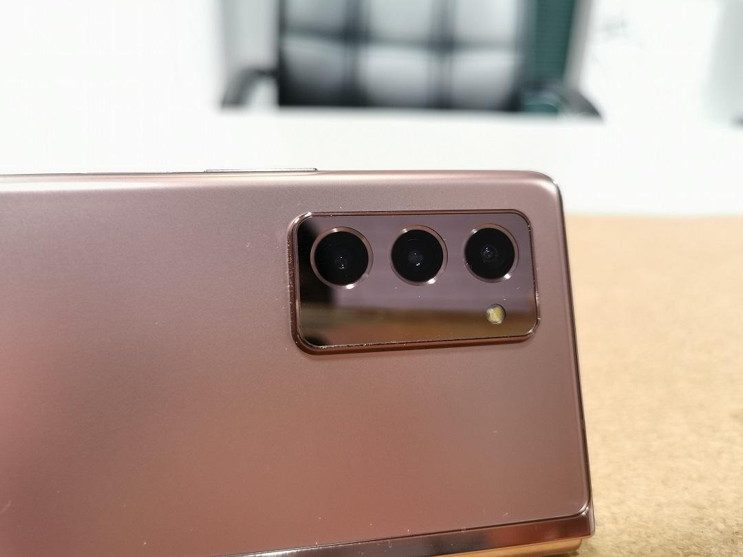 Samsung Galaxy Z Fold2 Smartphone - Main Rear- Triple Cameras