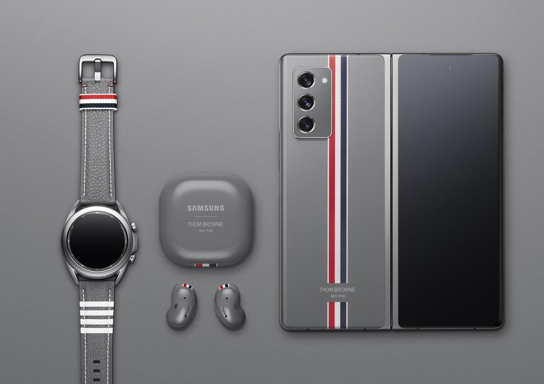 Samsung Galaxy Z Fold2 Smartphone - Thom_Browne_Edition