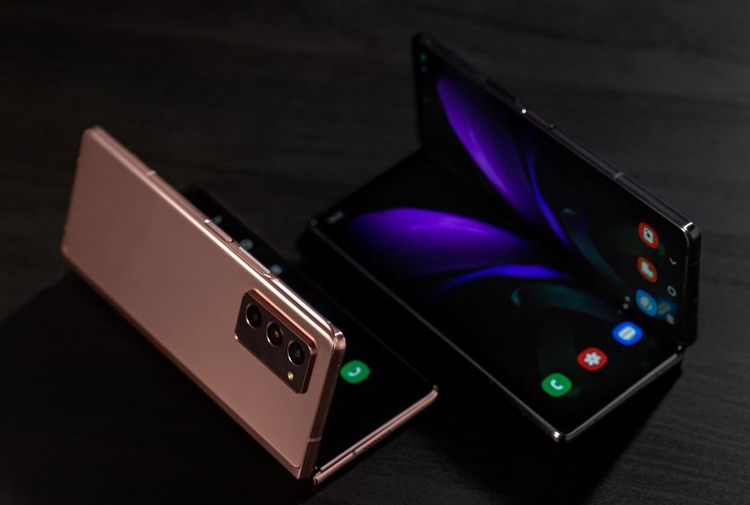 Samsung Galaxy Z Fold2 Smartphones
