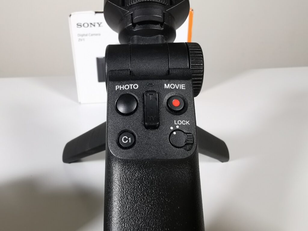 Sony Shooting Grip GP-VPT2BT. - Control Panel