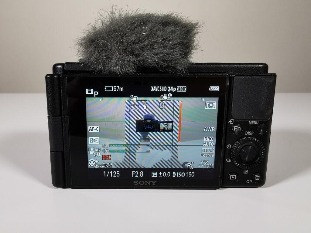 Sony ZV1 Camera-3inch LCD Touchscreen