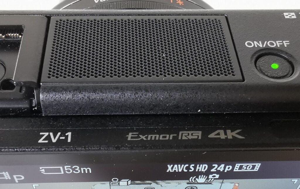 Sony ZV1 Camera-3 capsule mic & Exmor RS CMOS sensor & 4K