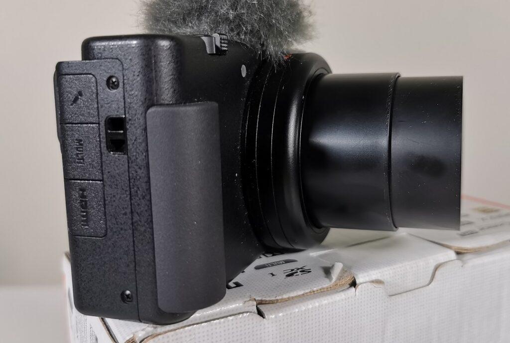 Sony ZV1 Camera-The new grip