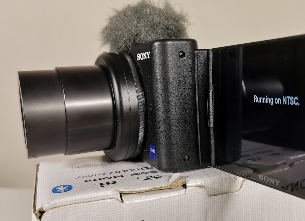 Sony ZV1 Camera-Zeiss Lens