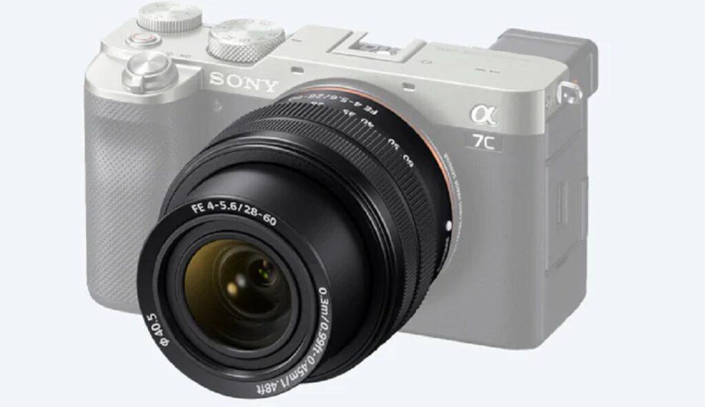 Sony Zoom Lens - model SEL2860 on Alpha 7C camera