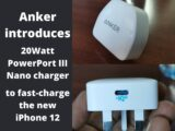Anker introduces 20Watt PowerPort III Nano charger to fast-charge the new iPhone 12