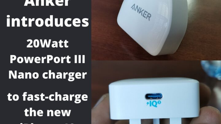 Anker introduces 20Watt PowerPort III Nano charger to fast-charge the new iPhone 12 in the UAE