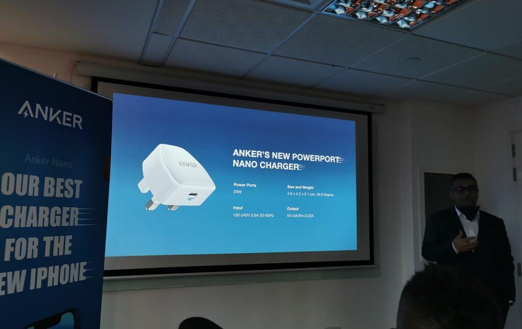 Faraz Mehdi -Introducing the Anker 20Watt PowerPort III Nano charger