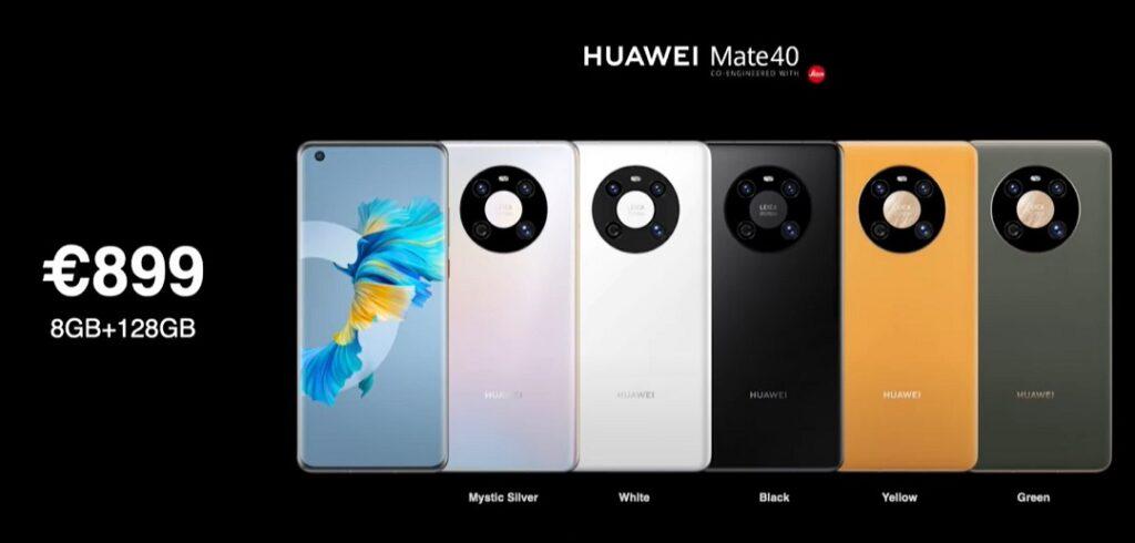 Huawei Mate 40 Price