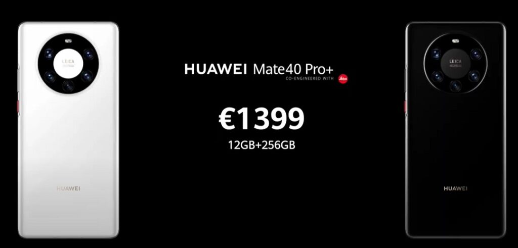 Huawei Mate 40 Pro Plus Price